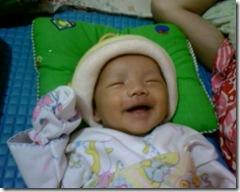 Zahraan senyum